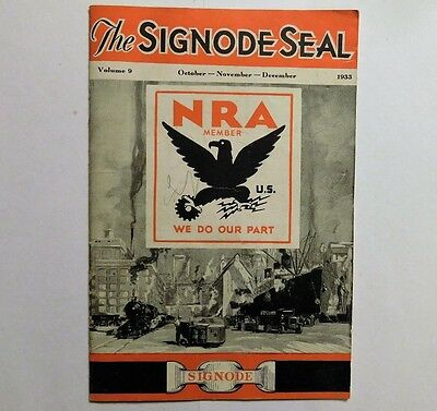 1933 Signode Seal Shipping Service Brochure~ Nra ~ Nice