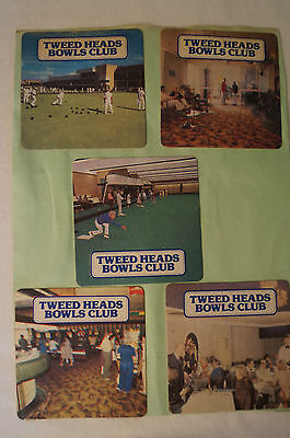 Collectable - Vintage - Group Lot of 11 Various - Club Coasters