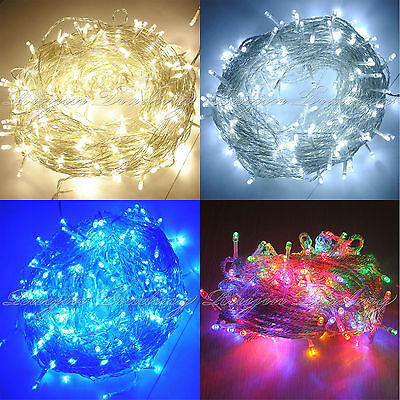 100-500 LEDs Guirlande Lumineuse Fée Lumière Indoor/Outdoor Xmas Party Arbre