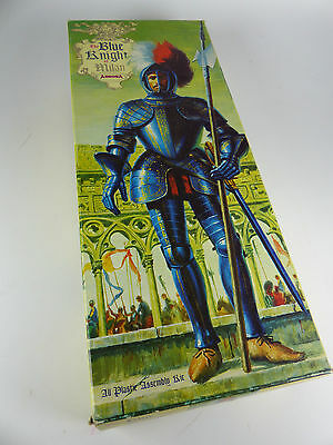 1960's Aurora Kit No.472 Blue Knight of Milan 1/8  Lagerfund NOS - MIB -2