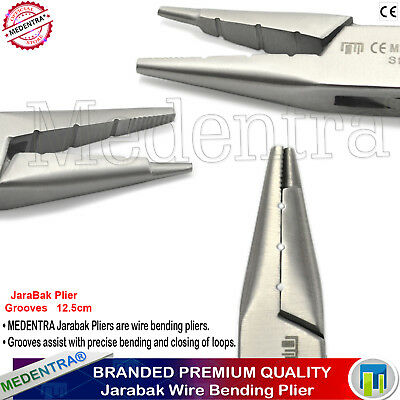 Orthodontic Instruments Dental Jaraback Pliers For Forming and Bending Loops X1