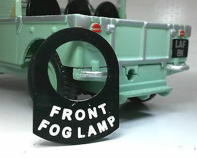 AC Cobra 428 Lucas Toggle Switch Tab Badge Decal Front Fog Light