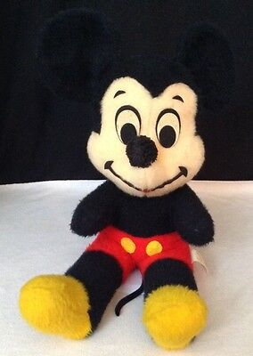"Vintage Mickey Mouse Walt Disney Characters LG 21"" Plush California Stuffed Toys"