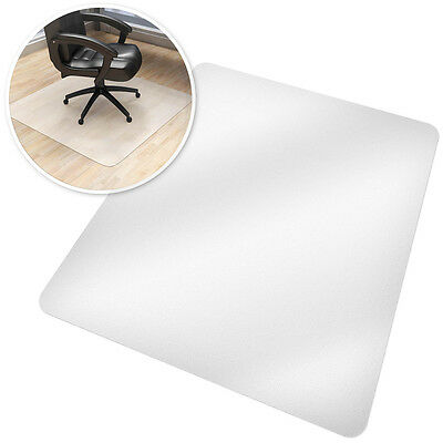 Office computer chair mat desk floor carpet protector plastic underlay 150x120cm