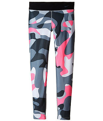 Nike Girls Dri Fit All Over Graphic Legend Camo Tights Save 30%!! Large