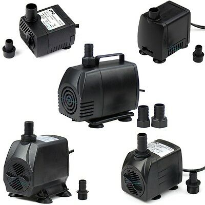 53-1450GPH Adjustable Submersible Water Pump Aquarium Pond Powerhead Hydroponic