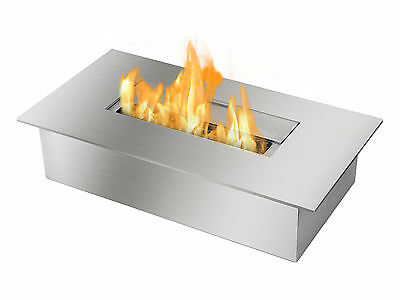 Ignis Ethanol Fireplace Burner EB1400 Double Layer Stainless Steel - 3 Liter