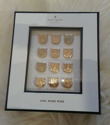 Kate Spade Owl Push Pins - BRAND NEW AND 100% AUTHENTIC!
