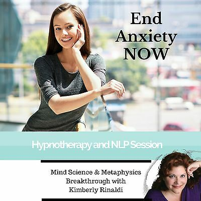 End Anxiety Now  - Behavioral Therapy Hypnosis MP3