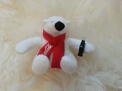 "Coca Cola Polar Bear 4 1/2"" Mini  - Brand New & 100% Authentic!"