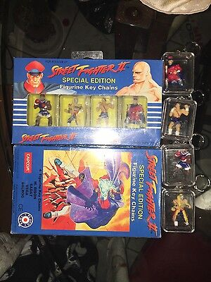 Street fighter 2 Special Edition Figurine Key Chains