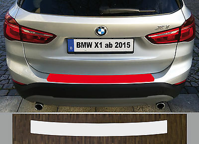 Clear Protective Foil Bumper Protection Transparent BMW X1, Type F48, from 2015