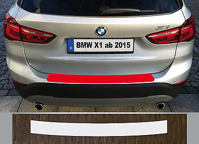 Clear Protective Foil Bumper Protection Transparent Bmw X1, Type F48, since 2015
