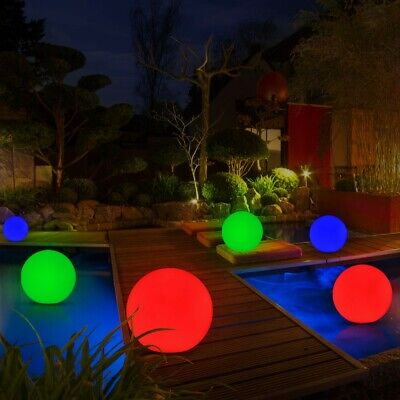 6 pond lighting balls decoration lamp patio lights around floating light modern