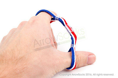 ArrowSocks - TRI-Colour GB Colour Archery Finger Slings