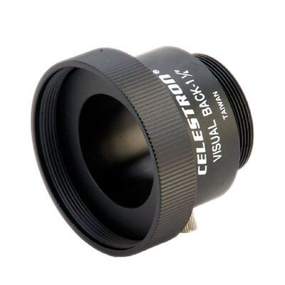 "Celestron Visual Back 1 1/4"""" Telescope Adapter NEW"