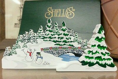 Shelia's Collectibles – Frozen Lake (Chrsitmas) – 1998 - ACL 23