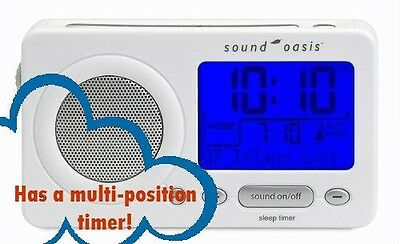 Sound Oasis Travel Sound Therapy System - White S-850W