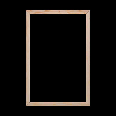 Wood Frame Art Canvas Stretcher Bars/Stretching Strips For UNFRAMED Canvas Print