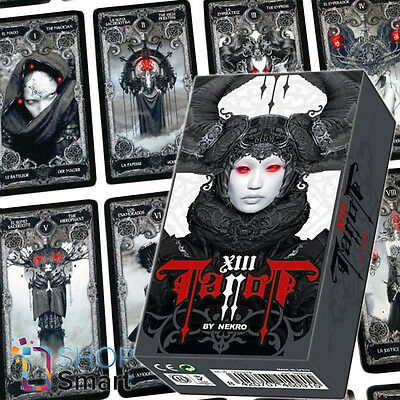 Nekro Xiii 13 Tarot Deck Telling Cards Divination Oracle Esoteric Fournier New