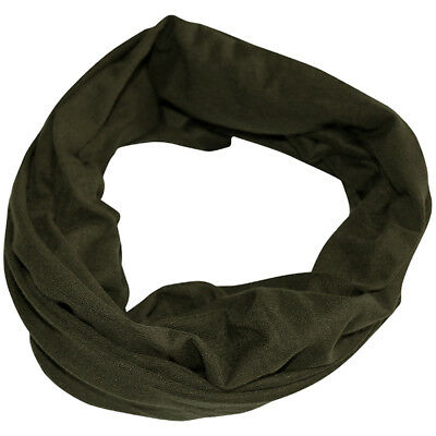Viper Tactical Snood Hunting Face Scarf Head Wrap Elastic Balaclava Hat Green