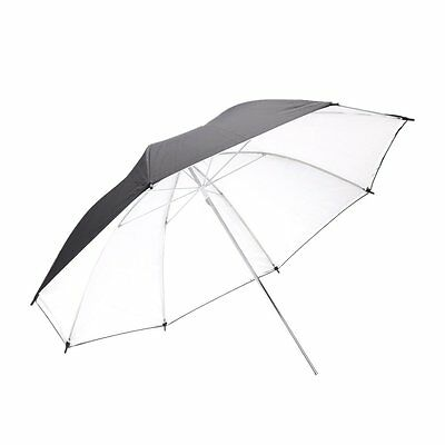 33in/83cm Soft silver translucent diffuser Umbrella for Studio Flash BT New
