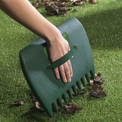 Ambassador Plastic Scoop Grass And Leaf Collector For Garden Rubbish