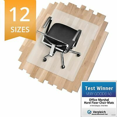 Office Chair Mat * Hard Wood Floor Protector * PVC/Vinyl FREE! * Computer Mat