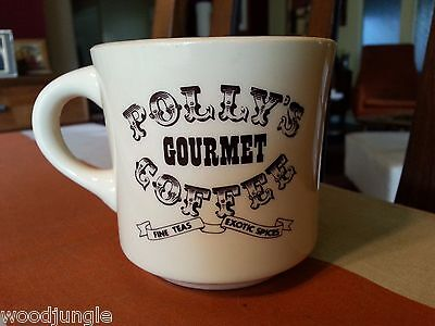 Vintage  POLLY'S GOURMET COFFEE COFFEE MUG TEXAS SPICES