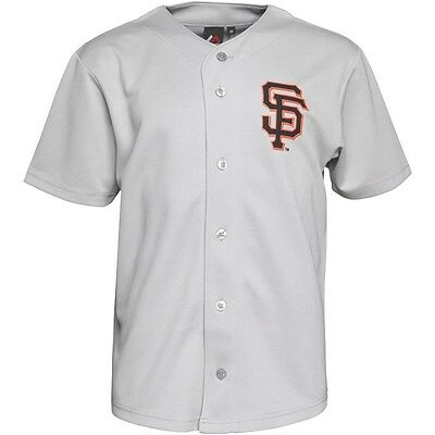 Majestic Athletic Men's San Francisco Giants Dormer Baseball Jersey, Size: XL