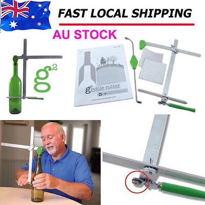 Glass Wine Beer Bottle Cutter Machine DIY Recycle Craft Cutting G2 Tool NEW MARK