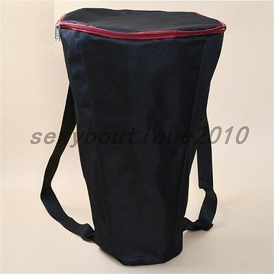 Musical Instrument Djembe Latin Drum Carry Case Gig Bag Percussion Gear Backpack