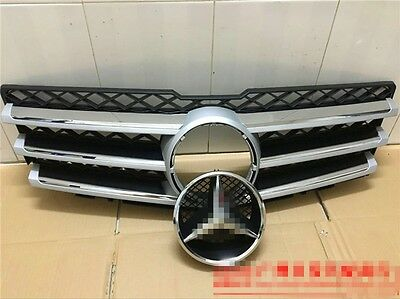 fit For Mercedes Benz X204 GLK 2008-2012 front grille mesh grill vent