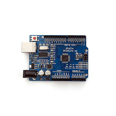 Carte de Development UNO Rev3 R3 Arduino compatible CH340 ATmega328P + Câble USB