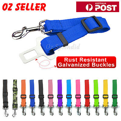 Adjustable Pet Dog Safety Car Vehicle Seat Belt Harness Lead Pet Seatbelt Nylon