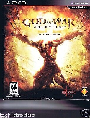 God of War: Ascension -- Collector's Edition (Sony PS 3, 2013)