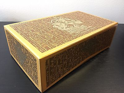 Yugioh - Yugi's Legendary Decks - EMPTY Storage Box EGYPTIAN Millennium Puzzle