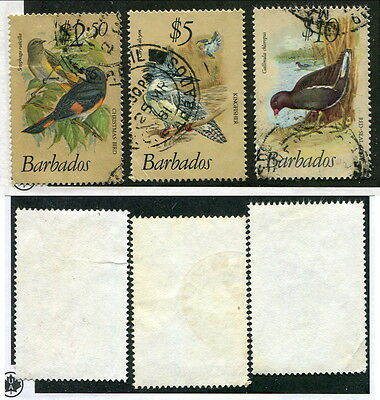 Used Barbados #509-511 (Lot #10034)