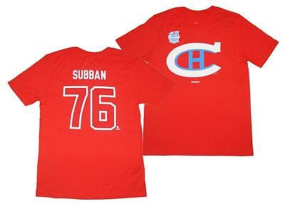 new concept fee09 f08c4 NEW NHL PK Subban Montreal Canadiens Jersey Player T Shirt ...