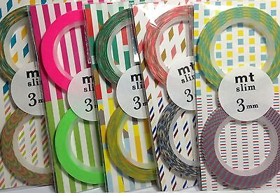 Japanese Washi Tape Mt Slim 3Mm Masking Tape 2 Piece Sets Scrap Craft Wrap Plan
