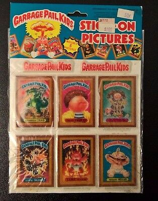 Garbage Pail Kids - GPK - 1986 - Stick-On Pictures - Charred Chad