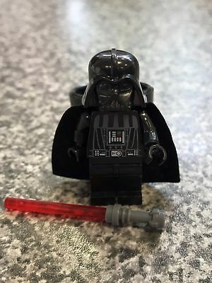 Star Wars Darth Vader Mini Figure Woggle - Scout Cub Brownie Slider Neckie - 106