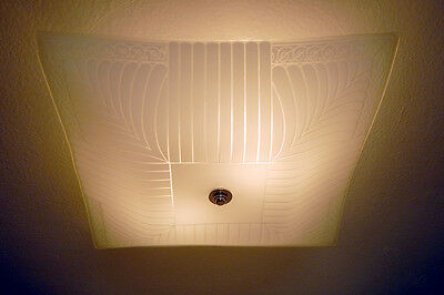 Vintage Ceiling Light Fixture Vintage Shade New Fixture