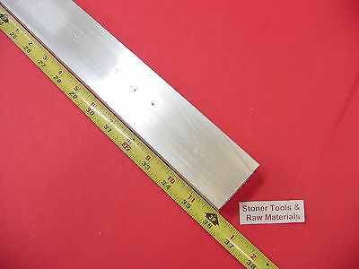 "1""x 2""x 1/8"" Wall ALUMINUM RECTANGLE TUBE 6063 T52 x 36"" Long 1.0""x 2.0"" x .125"""