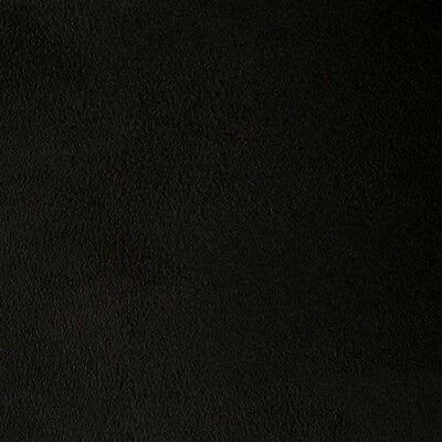 "Solid Micro Suede Upholstery & Drapery Fabric 60"" - Black (By The Yard)"