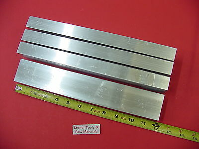 "4 Pieces 1""x 2""x 1/8"" Wall ALUMINUM RECTANGLE TUBE 6063 T52 x 12"" Long .125"" W"