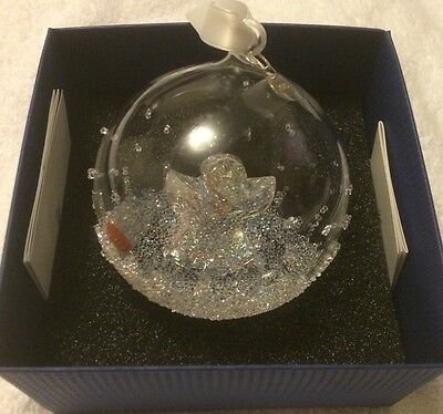 2015 Swarovski Christmas Ball Ornament New In Box Sold Out!! $Msrp 100.00