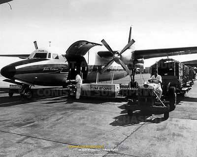 Collectibles Taa Fokker F27 Friendship Production Line A3 Poster Print Picture Photo Image