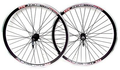 "26"" Quick Release Mountain Bike Wheels, 5 / 6 / 7 Speed,. Double Wall V Rims,"