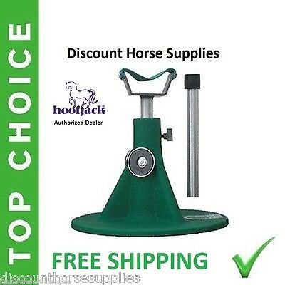 NEW GREEN HOOFJACK Standard Horse Size farrier stand Hoof Jack includes DVD